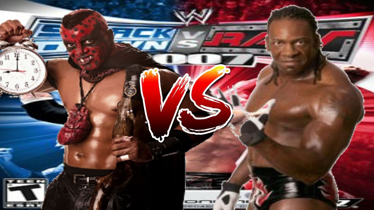 Wwe Booker T Quotes: WWE Smackdown Vs Raw 2007 The Boogeyman Vs Booker T