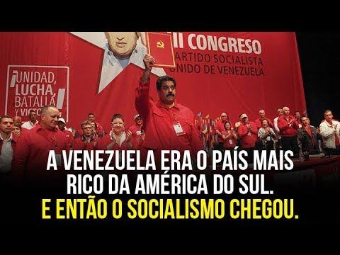 A Venezuela era o país mais rico da América do Sul. E então o socialismo chegou.