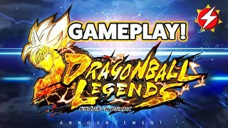 Dragon Ball Legends GAMEPLAY! 1v1 PvP 2018 NEW Mobile Dragon Ball Video Game | Full Announcement