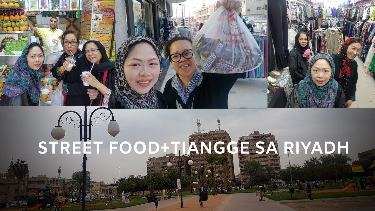 STREET FOOD + TIANGGE SA RIYADH: VIVZ VLOGS#5❤️