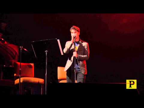 "Just Peachy!: ""Glee"" and ""Hedwig"" Star Darren Criss Wows 'em With Pasek and Paul Tune"