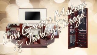 Lori Greiner Cosmetics & Jewelry Storage