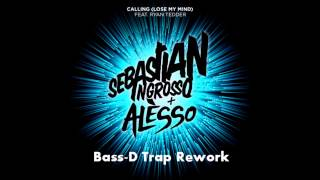 Cover images Sebastian Ingrosso & Alesso - Calling (Lose My Mind) (Bass-D Trap Rework)