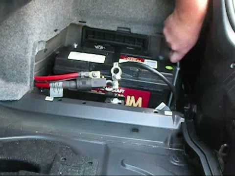 BMW M3 battery instalation - YouTube