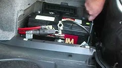 BMW M3 battery instalation