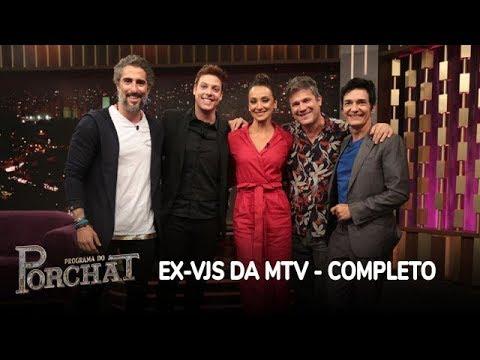 Programa do Porchat (completo) | Ex-VJs da MTV (03/04/2018)