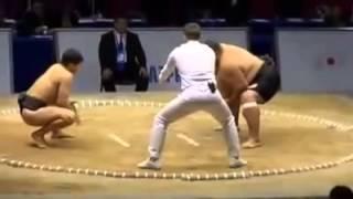 Маленький сумо против большого