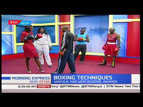 Gym instructor, Hellen Wafula: Sports Chat