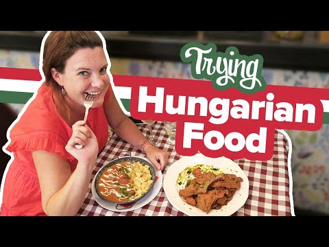 Hungarian Food Tour! 5 Must Try Dishes in Budapest! 🍽 First time trying food in Hungary. 😋