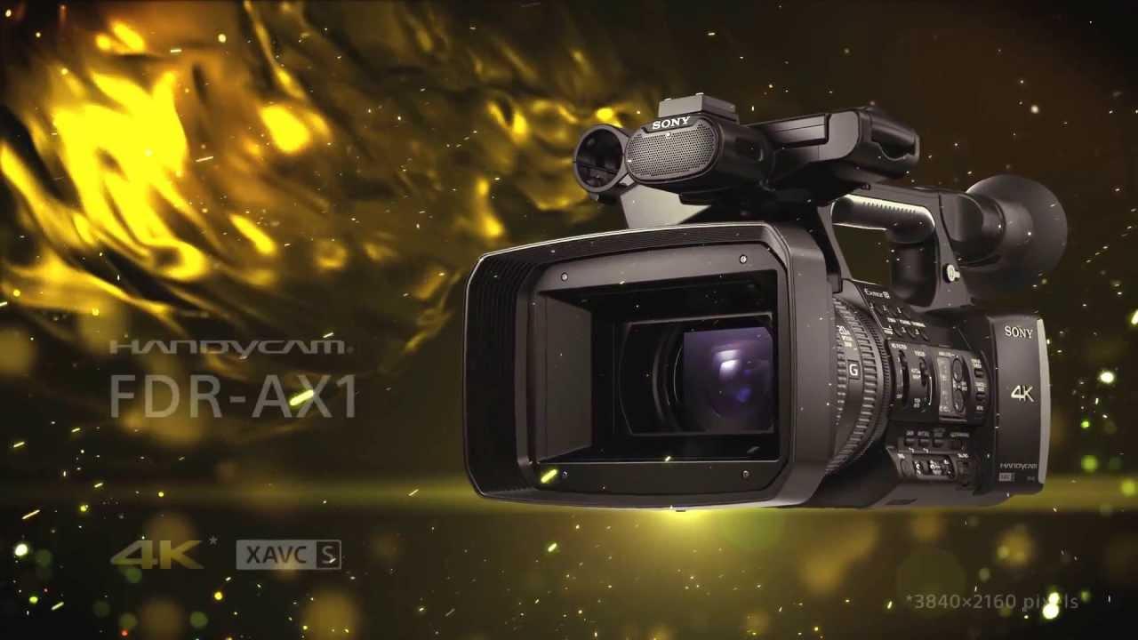 sony video camera price list 2013. sony handycam fdr-ax1 4k - promotional video camera price list 2013