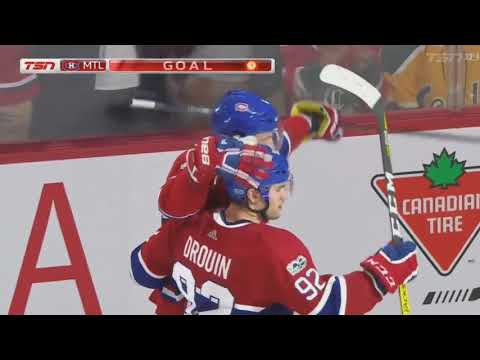 3 goals in 95 seconds for the habs
