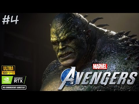 ABOMINATION [ BOSS ]   MARVEL Avengers - PC GAME   Part 4 thumbnail