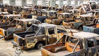 Creepiest Abandoned Trucks & Cars In Woods. Forgotten Machines. Abandoned Rusty Vehicles