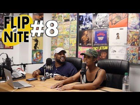 FLIP @ NITE #8 - FT NIA - (IS NIA BROKEN??) NIA BLACKS OUT ON QUEENZFLIP
