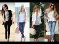 Best Black and White Women Blazer Fashion Style