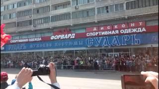 Техника на параде 9 мая в Москве