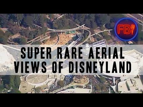 Power outage at Disneyland blesses us with 16 minutes of beautiful aerial footage | 12-27-17