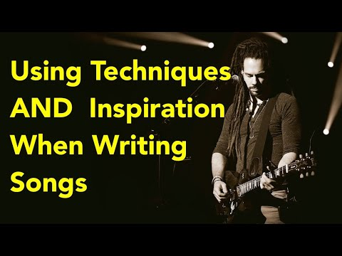How do you get use to the techniques in writing?