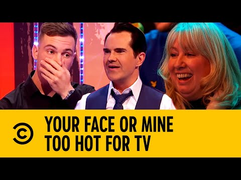 Finding Out Who Has The Fitter Mum | Your Face Or Mine | Too Hot For TV