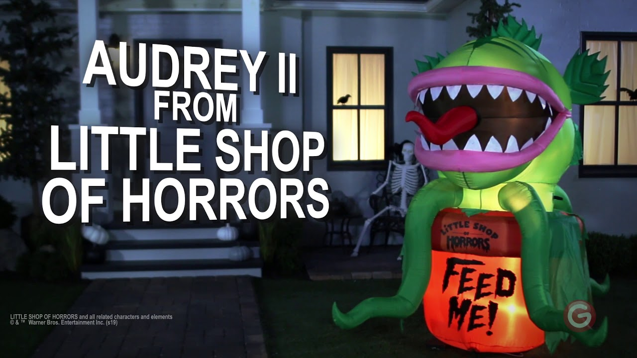 Warner 7.27 Ft Little Shop of Horrors Animated Audrey Inflatable NEW
