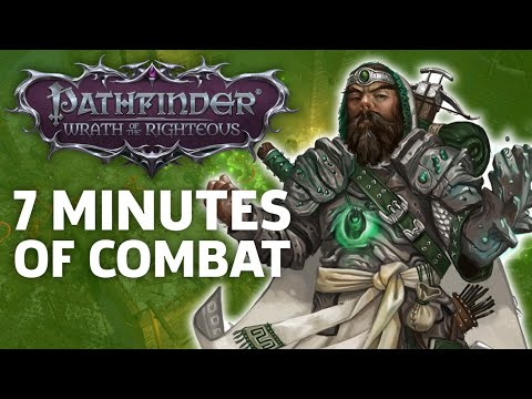 Pathfinder: Wrath Of The Righteous Gameplay – 7 Minutes Of Strategic Combat