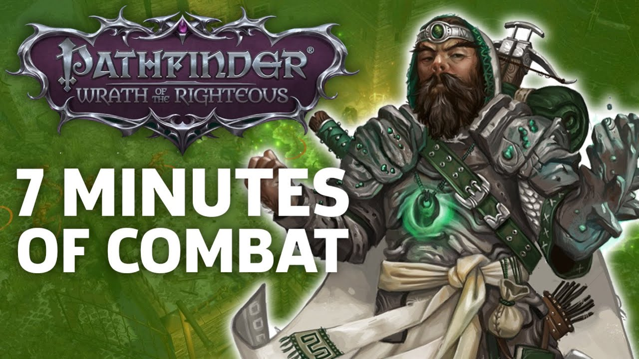 Pathfinder: Wrath Of The Righteous Gameplay - 7 Minutes Of Strategic Combat