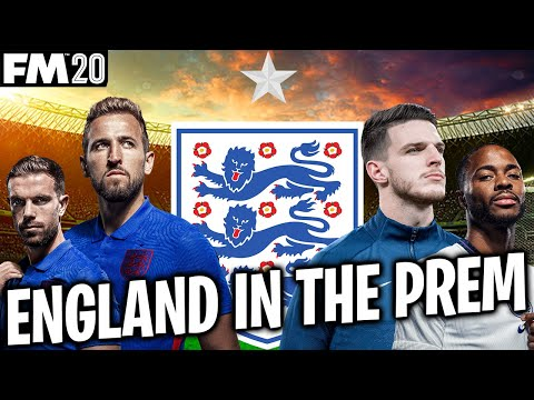 How would England do in the premier league | Football Manager 2021 Experiment |