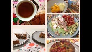 What I eat in a day | Cosa mangio in un giorno autunnale #6 con ricetta della torta alle mandorle