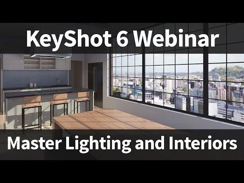 Keyshot Webinar 55 Master Lighting And Interiors