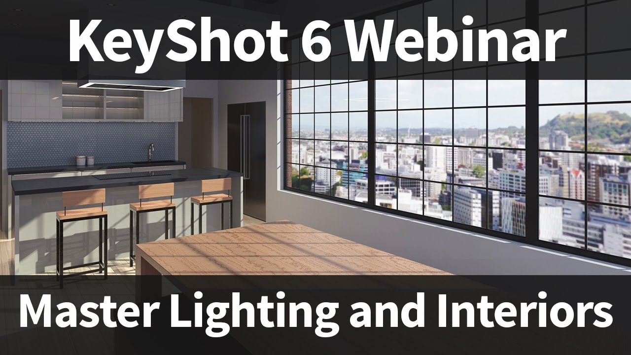 Keyshot Webinar 55 Master Lighting And