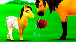 Animal Pony Hair Salon | Maker up Animals - Educational Game Play By TutoTOONS Unlock Full
