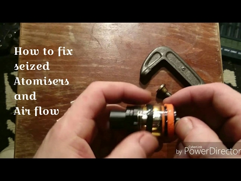 How to fix The Smok Big Baby Beast (and other tank atomisers)