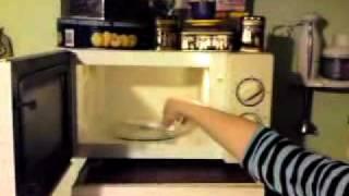 Лампочка в микроволновой печи