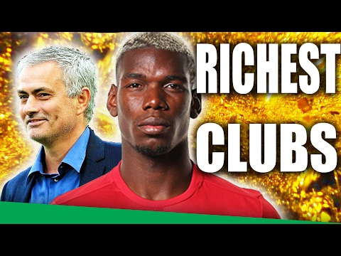 The 20 Richest Football Clubs in the World 2017!