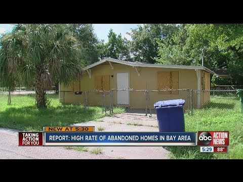 """Zombie"" homes still haunting Tampa Bay Area"
