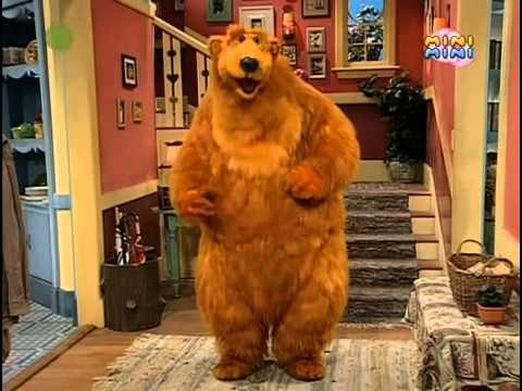 Niedźwiedź W Dużym Niebieskim Domu Bądźmy Interaktywni