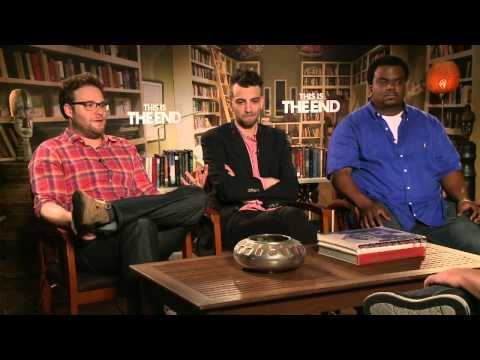 This Is The End - Seth Rogen, Jay Baruchel & Craig Robinson