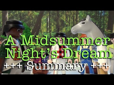 A Midsummer Nights Dream to go (Shakespeare in 12.5 minutes)