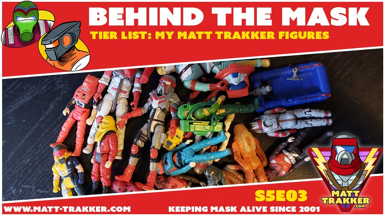 Tier List: My Matt Trakker Figures - S5E03