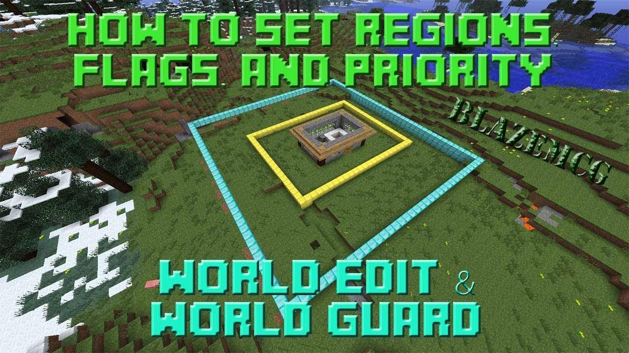 Minecraft Region Flag