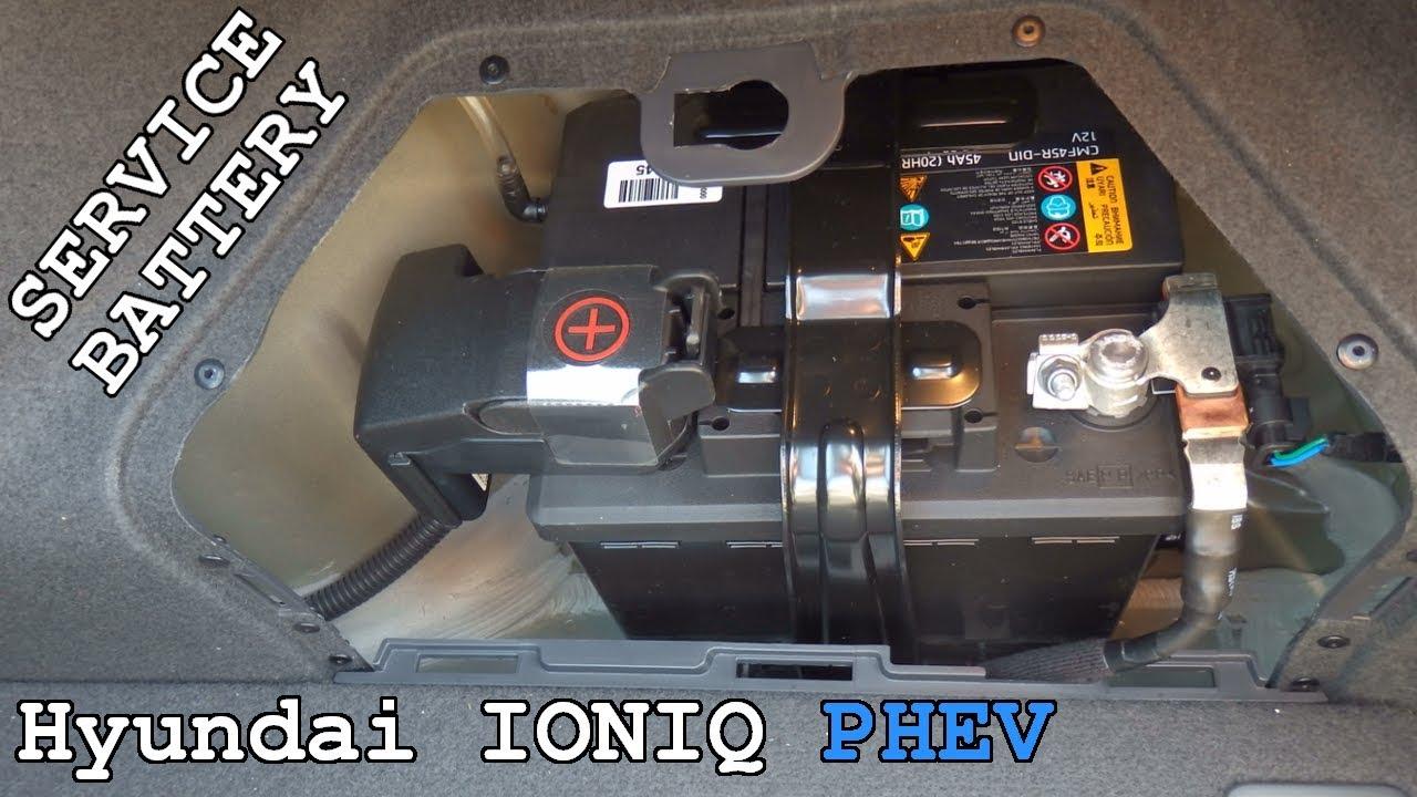 Hyundai Ioniq Phev 5 Service Battery Overview Youtube