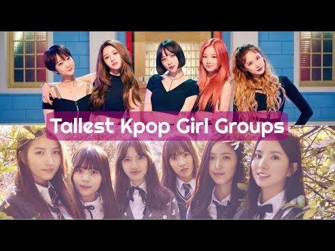 Tallest KPOP Girl Groups  TOP 10