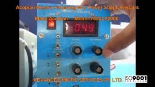 acopian electro polishing power supply repairs advanced micro services pvt ltd bangalore india