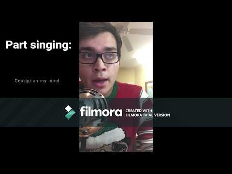 (Accepted) A Cappella Academy audition 2018: Philip anderson