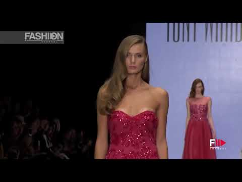 TONY WARD Mercedes-Benz Fashion Week Russia Spring 2016 by Fashion Channel