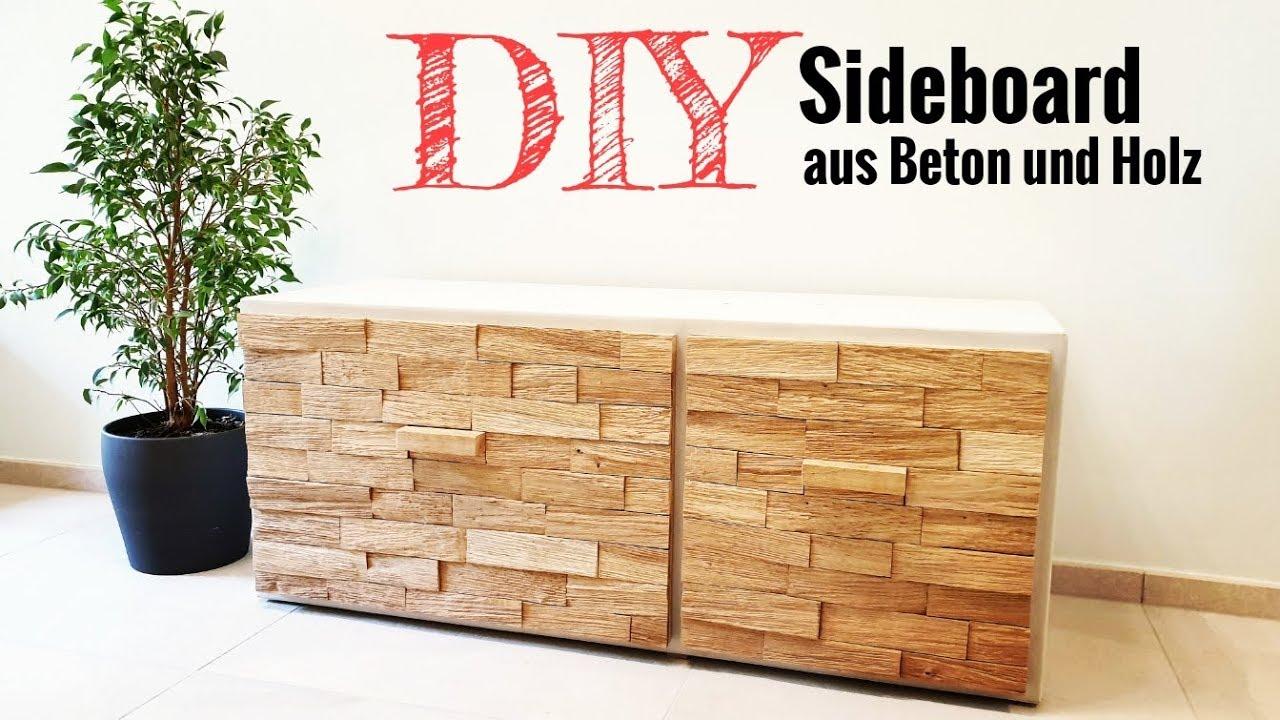 Diy Sideboard Aus Beton Und Holz Baue Dir Deine Designmobel