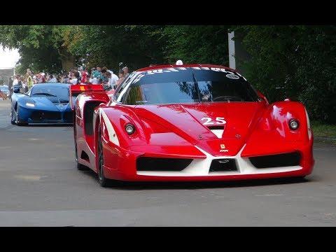 Supercar Medley in Goodwood FOS