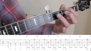 Beginning Bluegrass Banjo - Lesson 13 - An introduction to the tune Eight More Miles To Louisville
