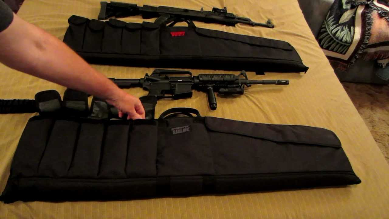 Blackhawk Sportster Rifle Case Review Youtube