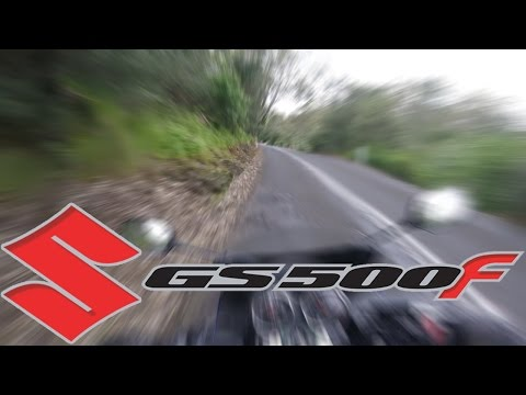 Suzuki GS500F -  The Point & Chandlers Hill Main Rd -  12 October 2016